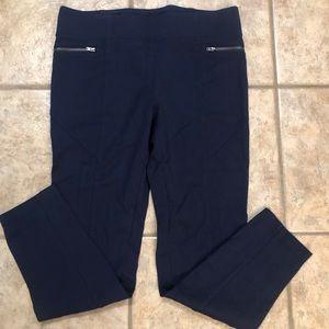 INC brand pull-on pants in navy, ladies' 12